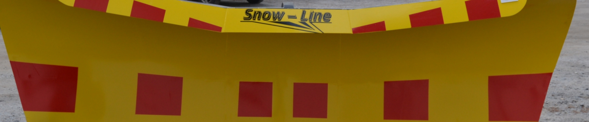 Snow-Line.   Snowplow.   Lumiaura.   Made in Finland.